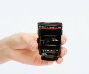 Camera Lens Shot Glass – You'lldefinitelybe giving the term 'taking shots' a whole new meaning.