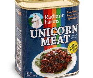Canned Unicorn Meat – Who knew unicorn meat tasted so magically good