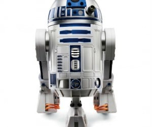 Own your very own voice activated R2-D2, this little guy responds to voice commands, navigates rooms and hallways, and makes any home feel like it has been transported to a galaxy