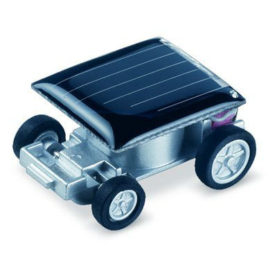 worlds smallest solar powered car