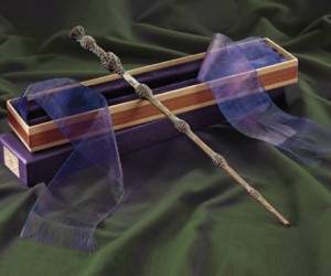 Dumbledore's Wand – Preserve the memory of one of the greatest wizards of all time by proudly displaying an exact replica of his wand. It's also super nifty that it