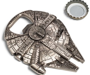 Star Wars Millenium Falcon Bottle Opener – Own the finest hunk of bottle opening junk in the galaxy!