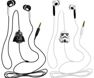 Star Wars Earbuds – I wonder what kind of music Darth Vader listens to…