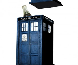 TARDIS Ice Bucket – This cool ice bucket will chill your drink, too bad it can't really send your drink through time to chill it faster than the speed of