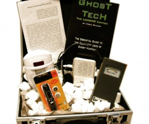 Looking for some scary fun this Halloween? Head on down to your local haunted house with this ghost hunting starter kit and decide for yourself if the spooky tales are