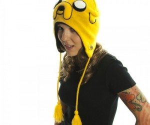 It's Adventure Time any time when you have Jake on your head.