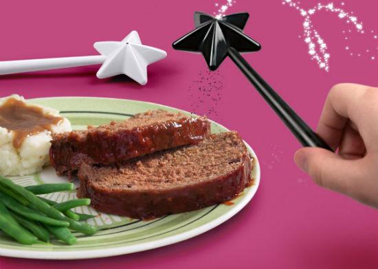 magic wand salt pepper shaker