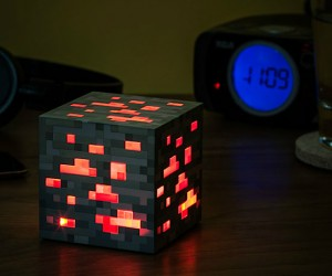 MineCraft Lightup Redstone Ore – Guaranteed to keep pigment away.