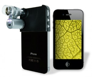 Go beyond macro into the world of micro with your iPhone! Take microscopic photos of 60X zoom!