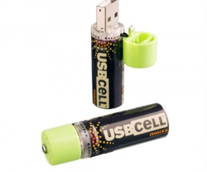 USBcell Rechargeable Battery – Perfect for recharging you battery via a USB port