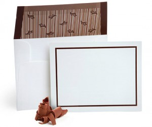 Chocolate Flavored Envelopes – Let me guess, the only reason you don't send love letters to your sweetheart is because you hate the nasty flavor of the envelope glue.