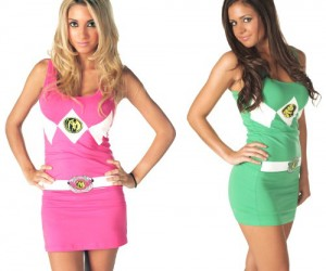 Power Rangers Dress – Yet another new series about The Power Rangers is coming out. If you're a fan then you will love this dress, just imagine your girlfriend wearing