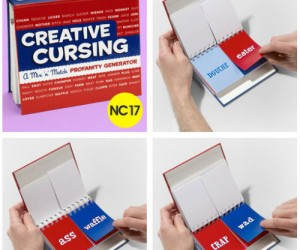 Creative Cursing a mix-n-match profanity generator game! Fun for the whole family!