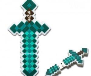 Minecraft Diamond Sword USB – Notch approved!