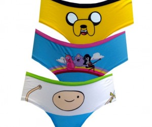 Women's Adventure Time Undies – Time to have your very own adventure if you know what I mean.