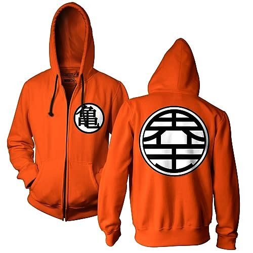 dbz hoodie