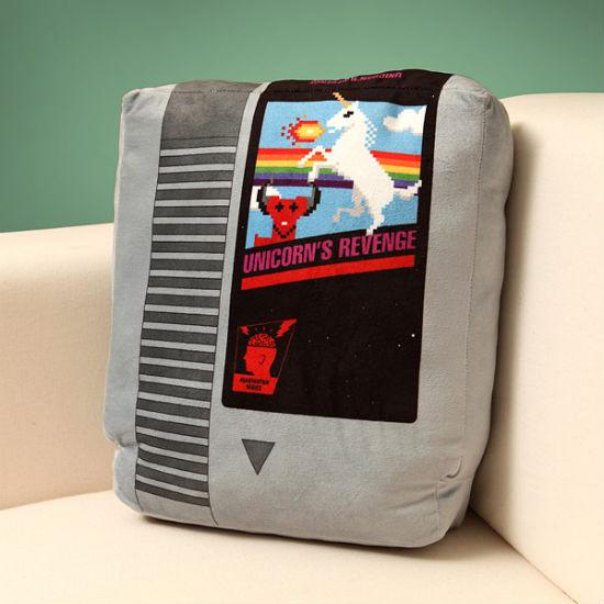 retro gaming pillow