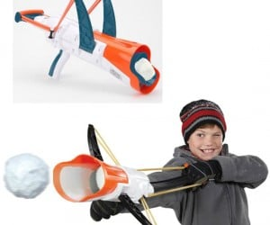 Dominate any snowball fight with your very own snowball crossbow of doom!