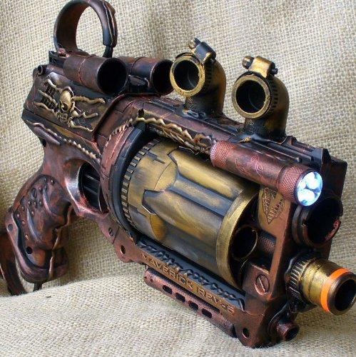 steampunk nerfgun 2