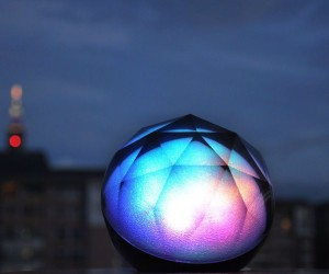 This color changing speaker looks pretty while it plays your favorite music!