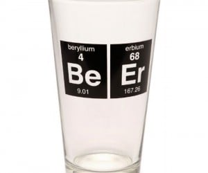 Beer is not actually made of beryllium and/or erbium, but if it's periodic table abbreviations spell BeEr, then that's close enough for me.