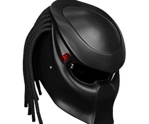 Predator Helmet – As an homage to everyone's favorite dreadlocked alien you'll strike fear in the hearts of other motorists as you whiz by.