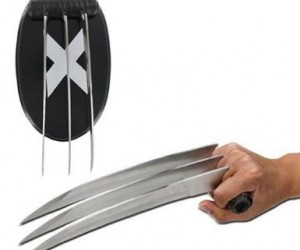 Wolverine Hand Claw – Now you too can tear your enemies apart with your very own hand claw.