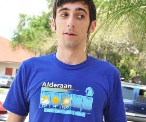 Star Wars Alderaan 5 day weather forecast shirt – Looks like wednesday is going to be a blast!