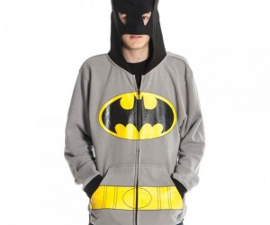Batman Hoodie – Now maybe people will believe when you tell them you're Batman, but probably not.