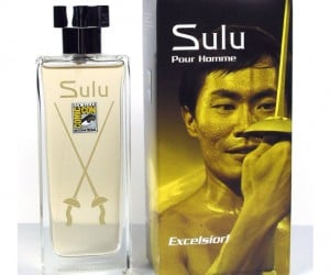 Star Trek Cologne – Now you can smell just as good and Sulu himself, Ohhh myyy!