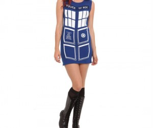 TARDIS Dress – You might as well look good while you're traveling through time.
