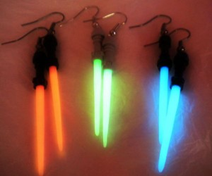 Star Wars Lightsaber Earrings – You'll be the most attractive Jedi in the whole galaxy.
