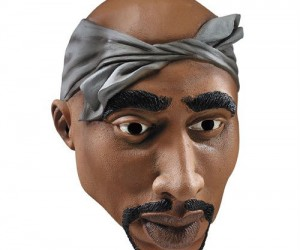 2Pac Halloween Mask – Shawty wanna be a rapper for halloween?
