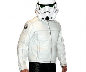 Great for riding a motorcycle, dressing up for Halloween, or just plain looking good! It would go great with the Storm Trooper Replica Helmet!