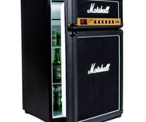 Marshall Amp Mini Fridge – It holds enough beer to satisfy the whole band!