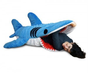 Chumbuddy Shark Sleeping Bag – It's a known fact sharks aren't trying to eat you they just want to cuddle.