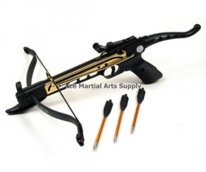 Let me just ask you this… why wouldn't you want to own an 80 pound self-cocking crossbow pistol?