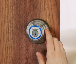 Kwikset Bluetooth Enabled Deadbolt – Your smartphone just became your key.