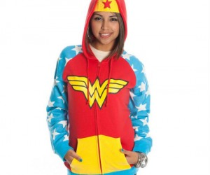 Wonder Woman Hoodie – Now all you need is your own invisible jet!