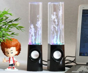 Dancing Water Speakers – Watch the water dance to the beat!
