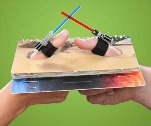 Lightsaber thumb wrestle through some of your favorite Star Wars scenes.