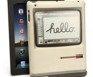 The perfect iPad case for you Apple nostalgia seekers.