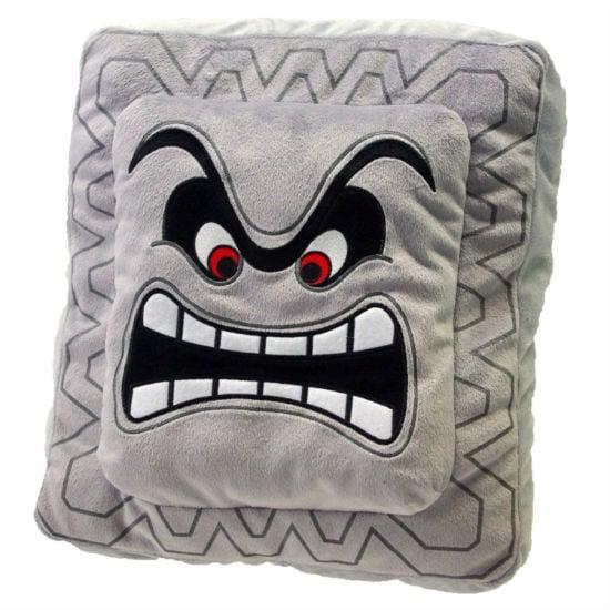 super mario thwomp pillow