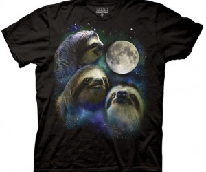 Legend has it that if you wear this shirt for three days straight you will become a weresloth!