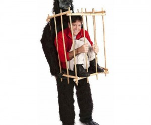 """People will go ape-s*** when they see you in this """"WTF"""" inducing costume"""