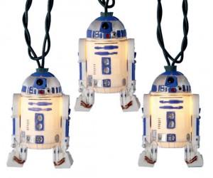Star Wars R2D2 Christmas Lights – Deck the hall with Droids so jolly, fa la la la la!