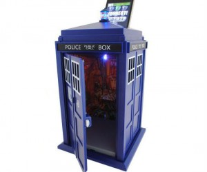 The TARDIS will keep your things safe, well as long as you don't lose your smartphone…