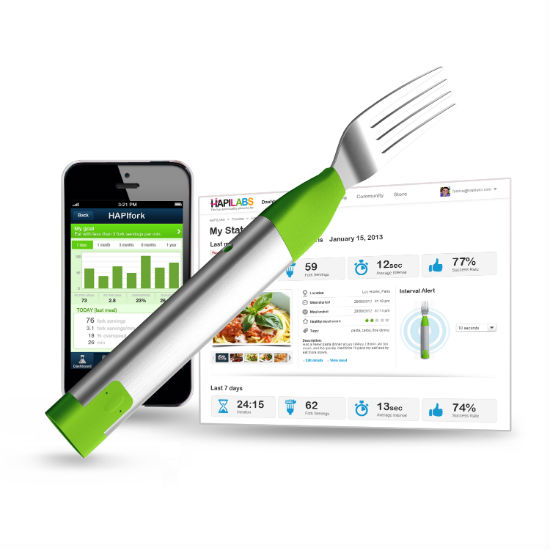 bluetooth smart fork
