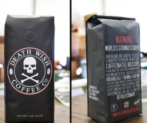 Death Wish Coffee – Touted as the world's strongest coffee, a cup of this death drink might keep you buzzed for weeks.