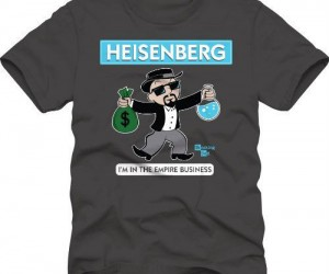 Breaking Bad Monopoly Shirt – I'm in the Empire Business!